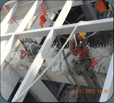 海洋大厦 拆除改造工程案例-北京凯利恒钢结构有限
