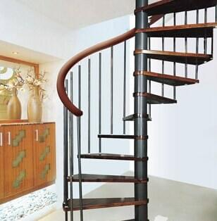 钢结构楼梯 旋转楼梯结构设计