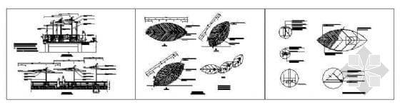 花架钢结构施工设计图