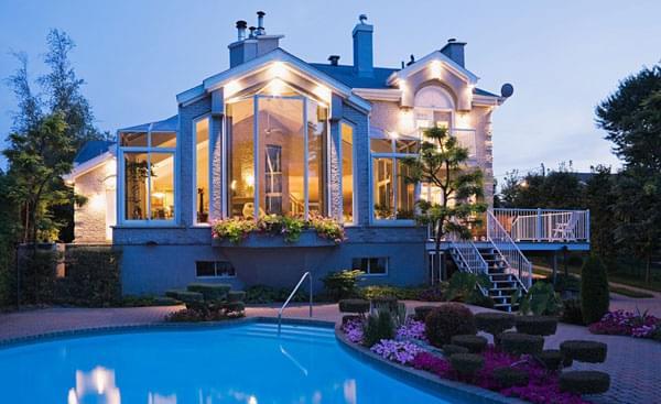 钢结构别墅设计 打造现代阳光房-北京钢结构建筑公司