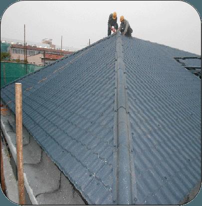 钢结构案例-老旧小区综合整治屋面钢结构工程