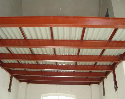 钢结构夹层隔层 钢结构夹层楼板价格