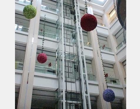 钢结构电梯井道的关键-北京凯利恒工程建设有限公司