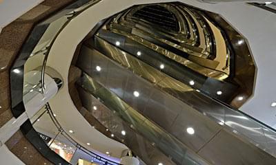 电梯井钢结构设计图纸展示