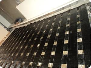现浇板碳纤维加固