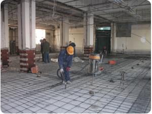 混凝土楼板现浇叠合层加固