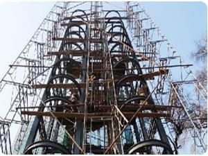 井聯鋼結構電梯井
