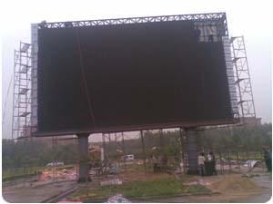 鋼結構戶外廣告牌