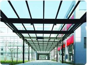 鋼結構觀光連廊