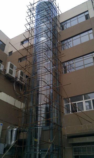钢结构电梯井道施工分为哪两个阶段