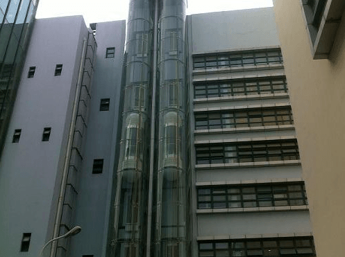 观光电梯钢结构井道进水了怎么处理才好