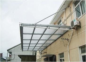 钢_钢结构玻璃雨棚主要是由哪些材料制作的