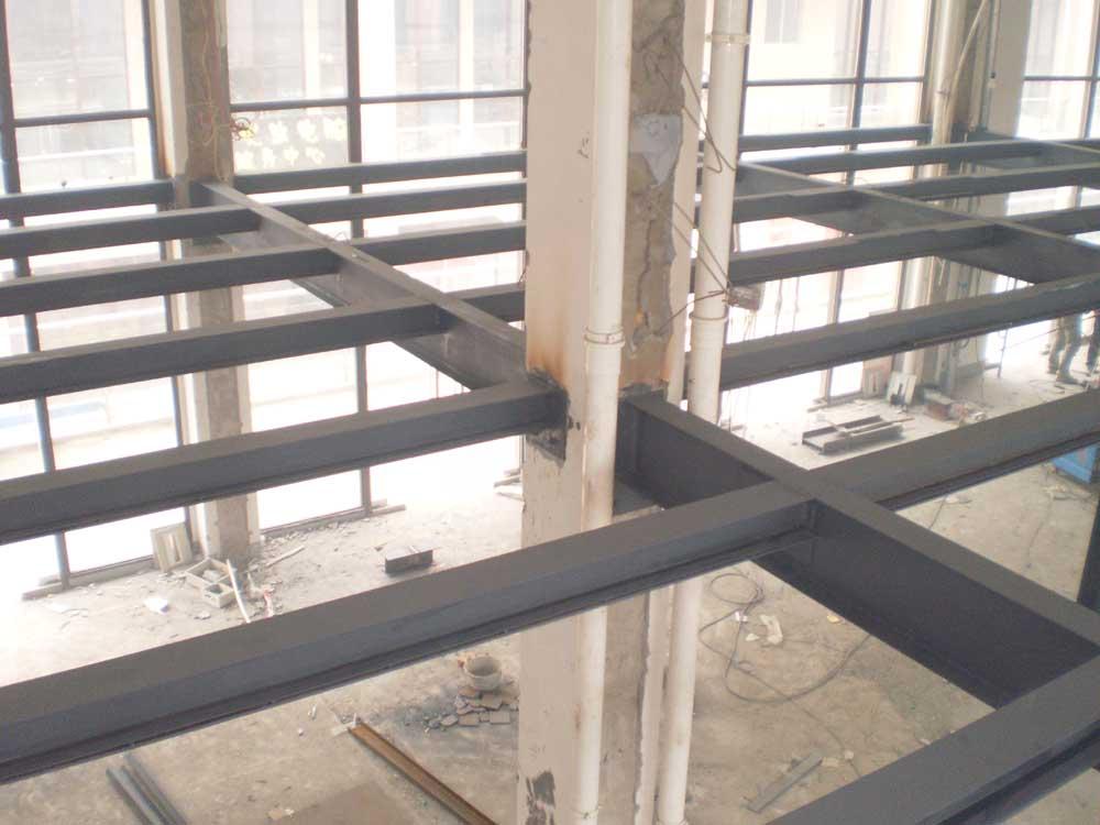钢结构隔层施工工艺