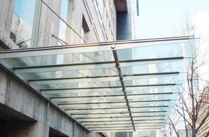 楼梯雨棚设计效果图