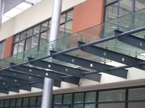 钢结构雨棚结构计算分析