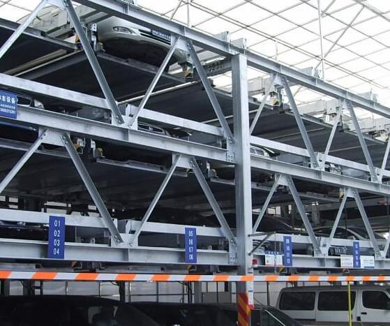 钢结构立体车库报价