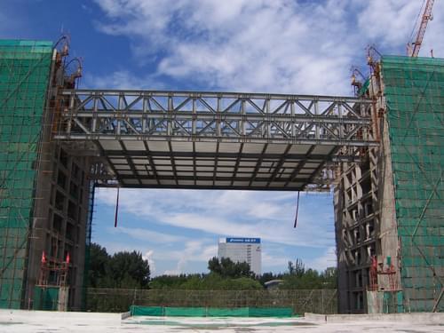 钢结构连廊制作