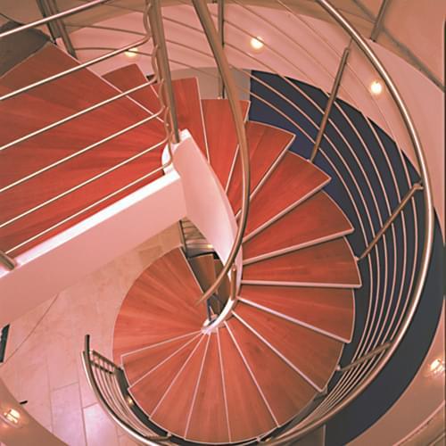 室内钢结构旋转楼梯制作安装价格