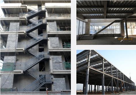 执照 钢结构直楼梯的安装工艺,应确保楼梯所有构件的表面光滑,无锐边