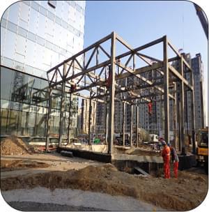 造型钢结构 异型钢结构-北京凯利恒钢结构有限公司