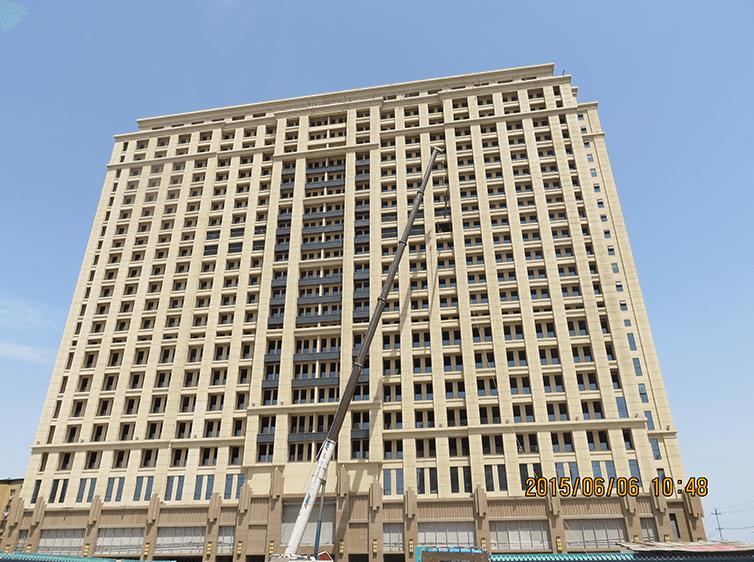 新华科技大厦13层钢结构夹层工程