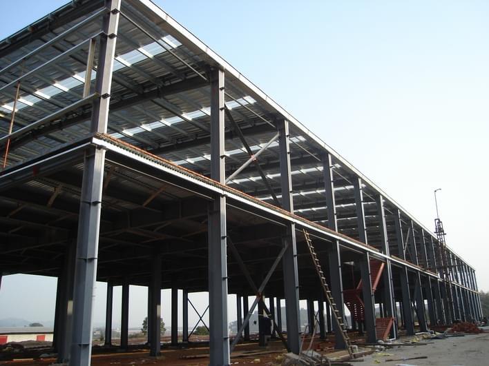 钢结构厂房建筑中柱间支撑的抗震构造措施