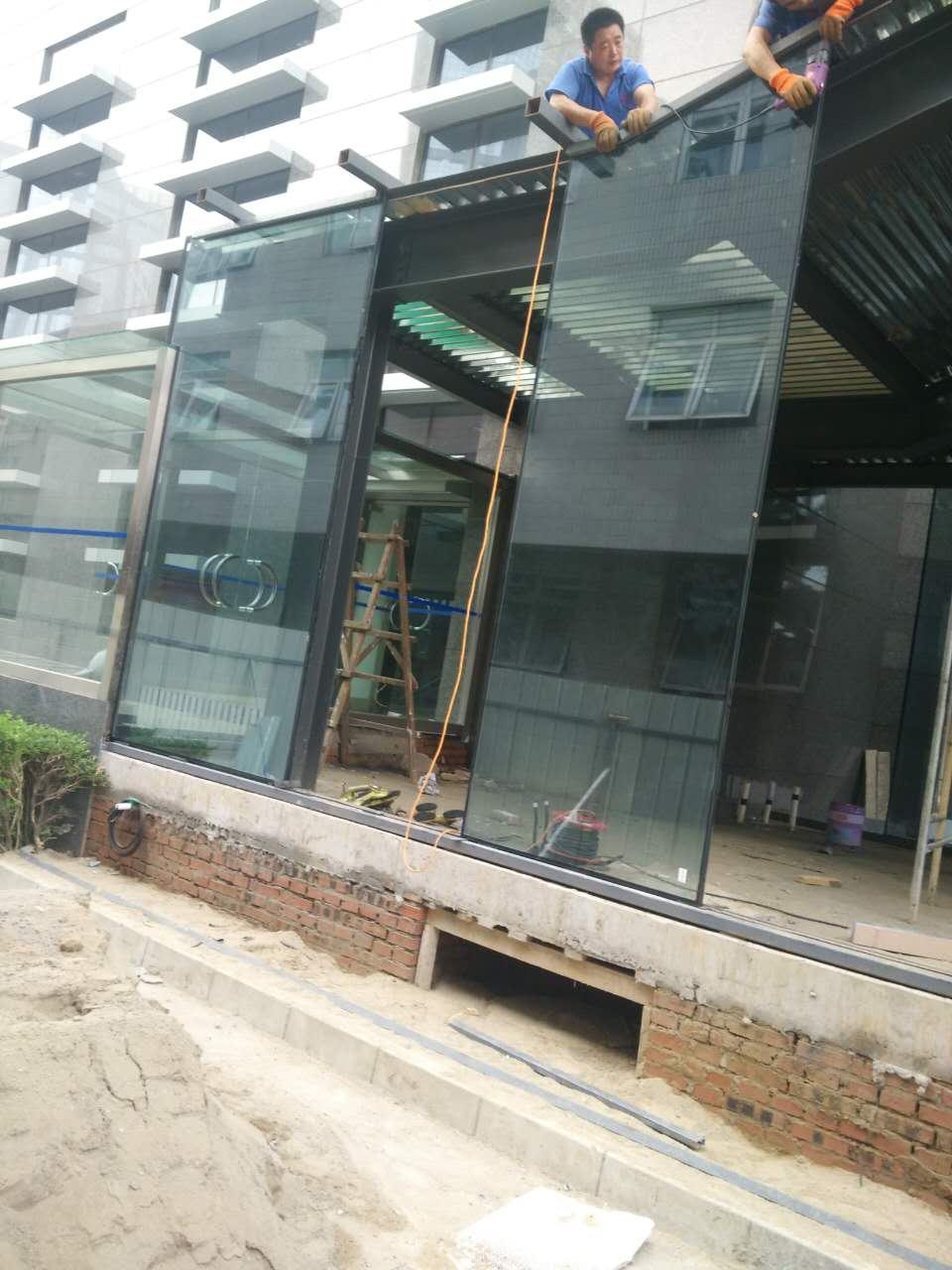 凯利恒总经理亲临望京钢结构咖啡厅工程现场检查工作