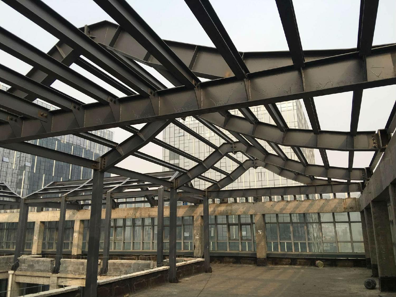 托普科技园四合院钢结构工程
