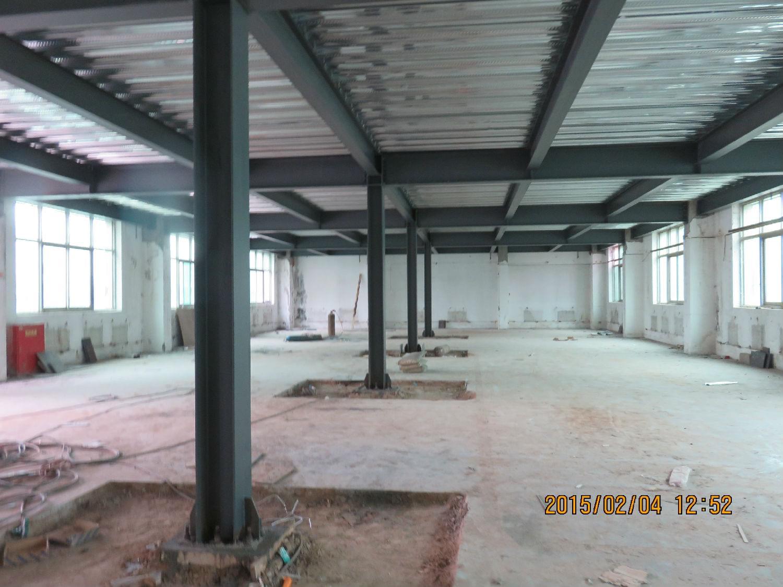 老厂房采用钢结构改造搭建升级作为办公室 展厅的相关