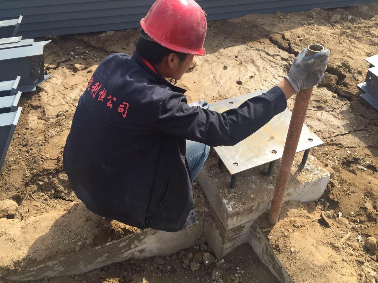 钢结构工程在基础施工