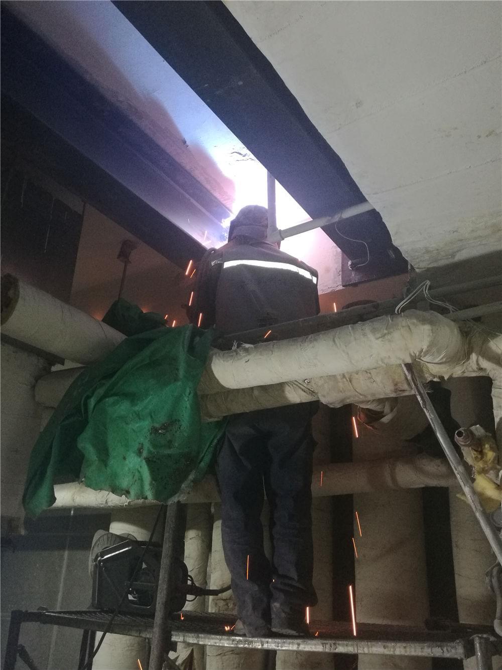 北京植筋加固公司_朝阳区汉威大厦新风机房加固改造项目工程
