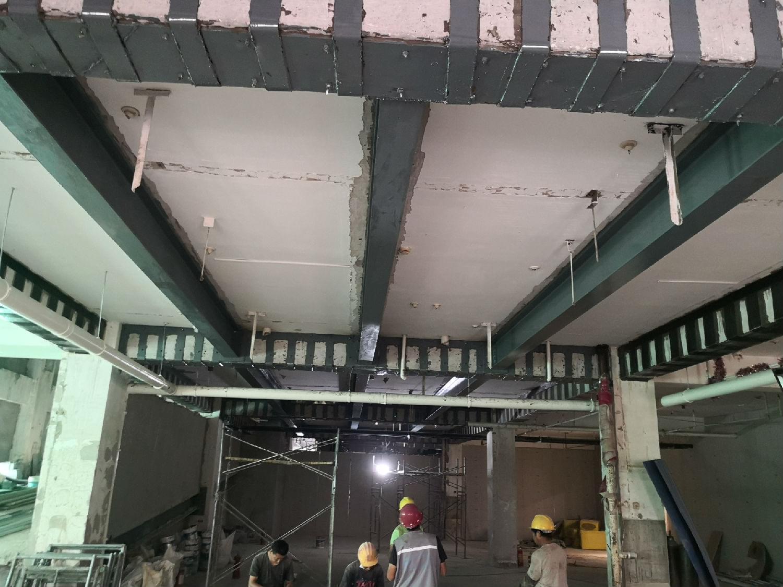 北京植筋加固公司_百子湾家园商业泳池承重加固工程案例-凯利恒加固公司