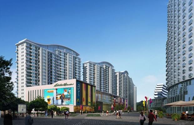 钢结构案例-怀柔区龙山广场屋面钢结构工程