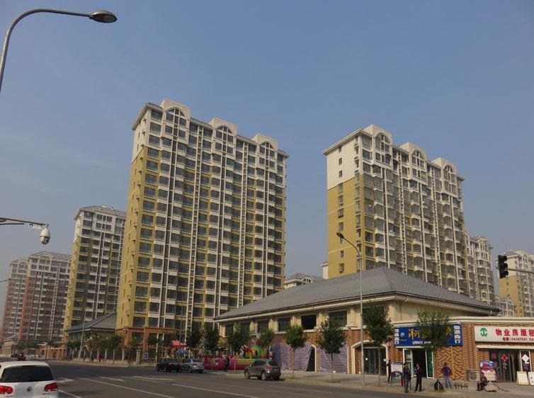 钢结构案例-京旺家园钢结构工程