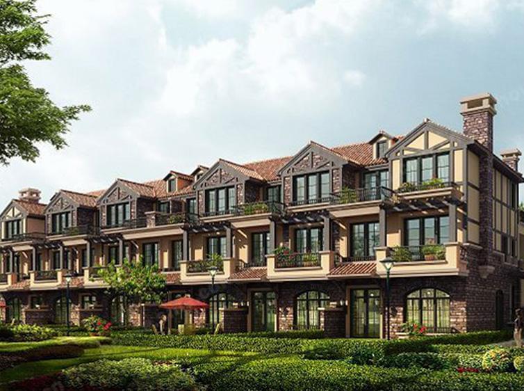 钢结构案例-香河富力新城别墅区钢结构阁楼项目