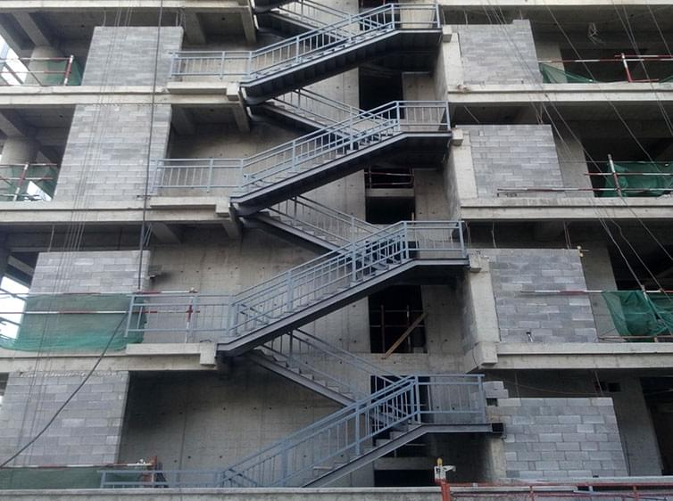 北七家tbd云集团商务楼新增钢结构工程