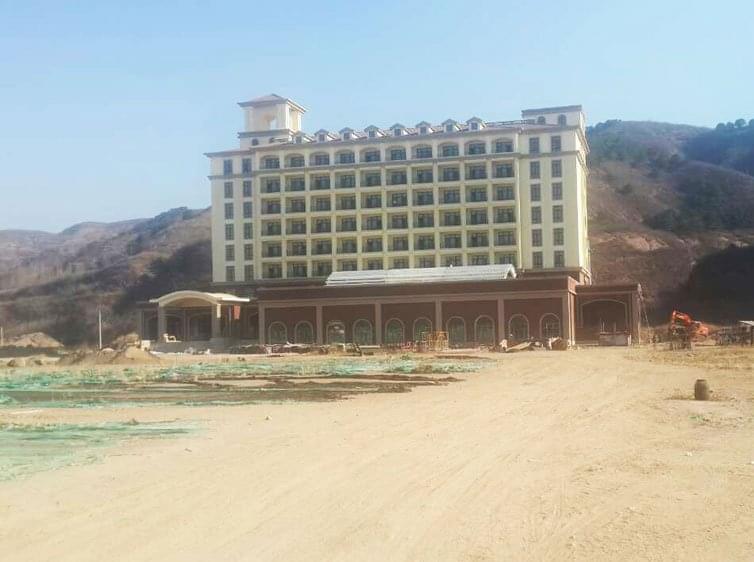 钢结构案例-承德高新技术学院屋顶钢结构工程