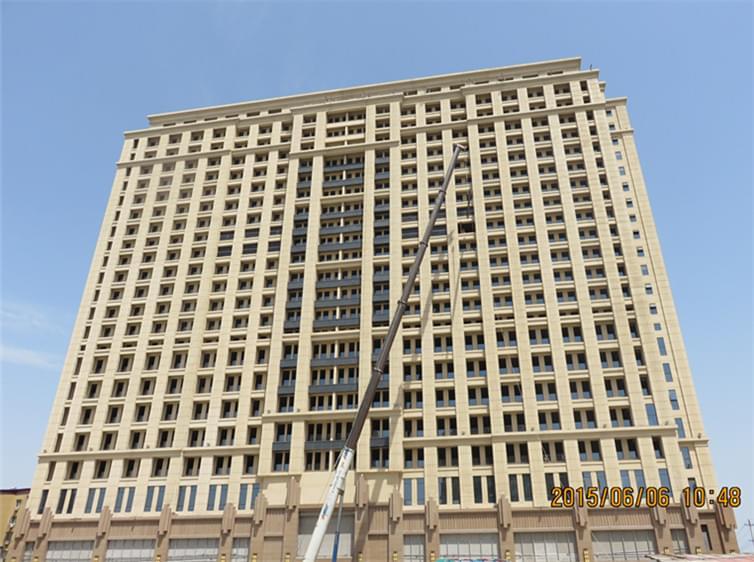 钢结构工程案例-新华大厦钢结构工程案例