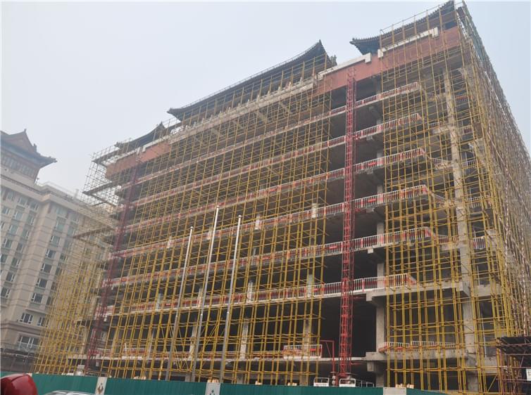 改造加固案例-隆福大厦改造加固工程