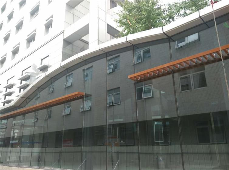 望京钢结构咖啡厅工程施工案例