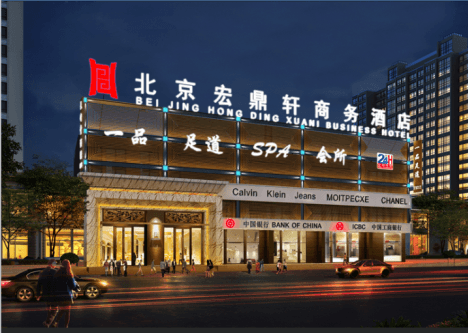 凯利恒宏鼎轩新增钢结构电梯井道工程案例