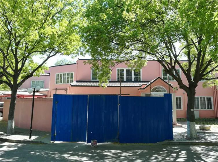 凯利恒 顺义丽京花园钢结构玻璃雨棚案例