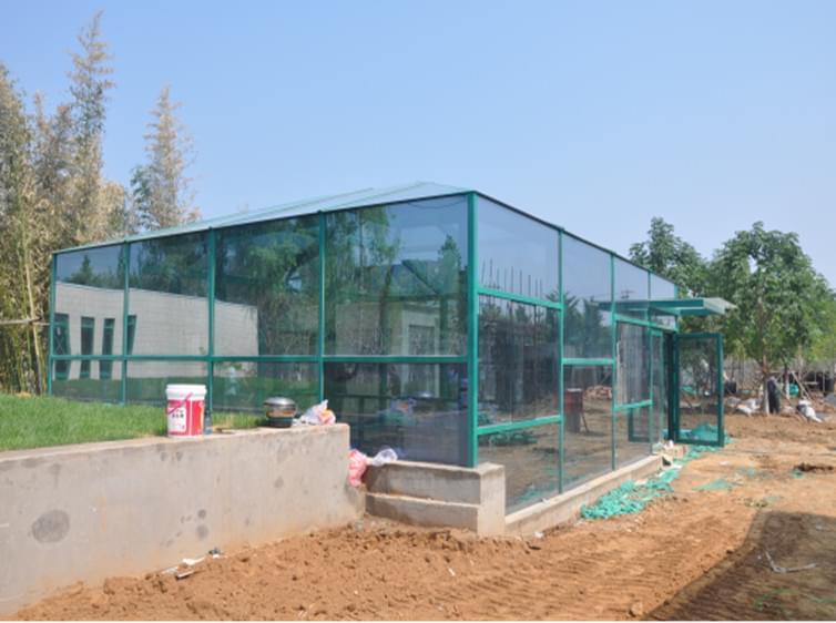 凯利恒瀚河园路钢结构阳光房工程案例
