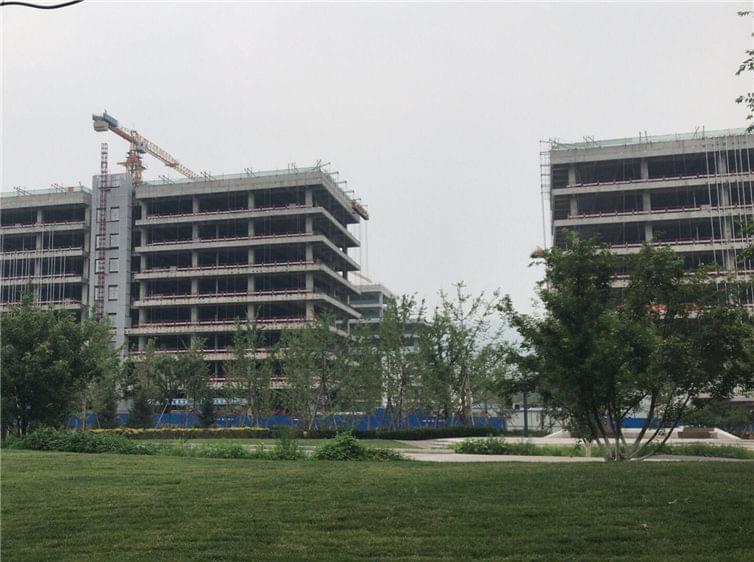 石景山实兴大街B23研发设计中心用地办公楼加固工程