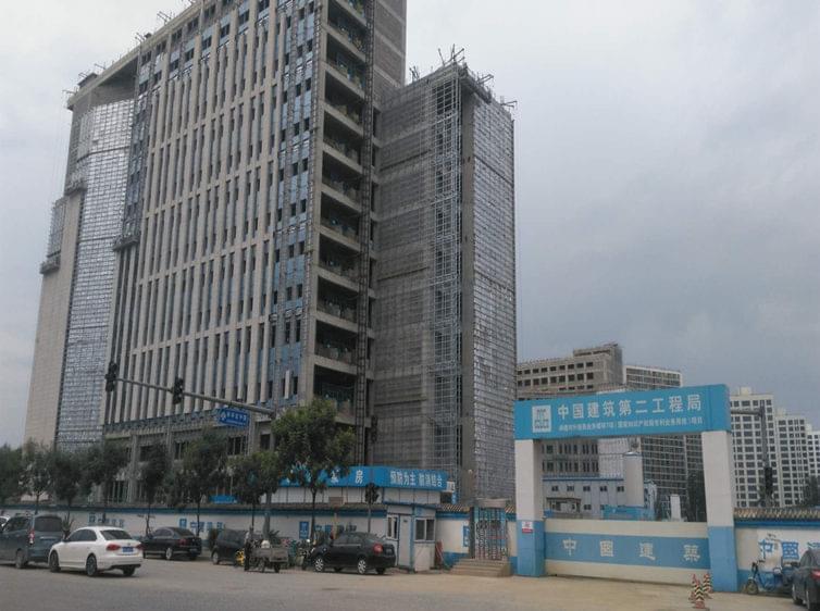国家知识产权局屋面钢平台工程项目