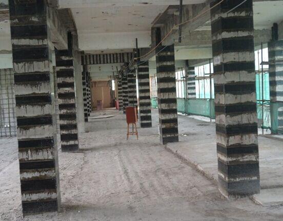 混凝土柱加固